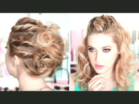 fantastic party hairstyles background-Fascinating party hairstyles models