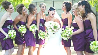 Photo of Bridesmaids hairstyles for short and medium and long hair