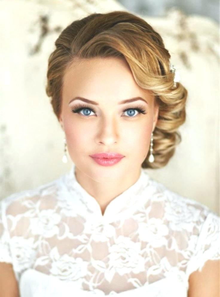 new bridesmaids pinned pattern-Modern Bridal Hairstyles Pinned Decoration