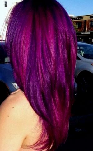 fancy gaudy haircolors photo picture-New Gaudy hair colors design