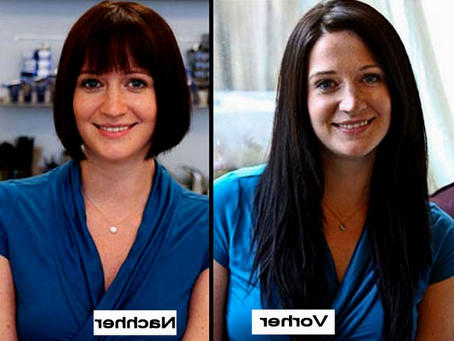 fancy hairstyles fine hair before after concept-Modern Hairstyles Fine Hair Before After Architecture