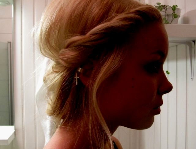 Amazing awesome hair braid learning background-Cool hair braiding learning model
