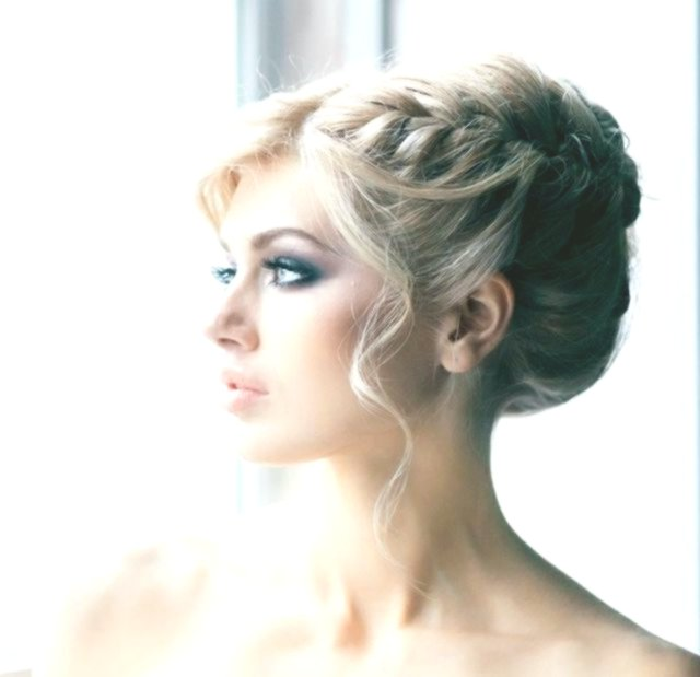 excellent updo sideways portrait-modern updo side photo