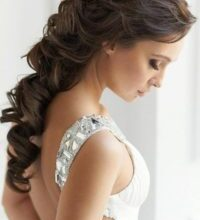 Photo of Awesome hairstyle bride photo