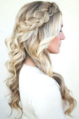lovely hairstyle half-open picture-modern hairstyle half-open reviews