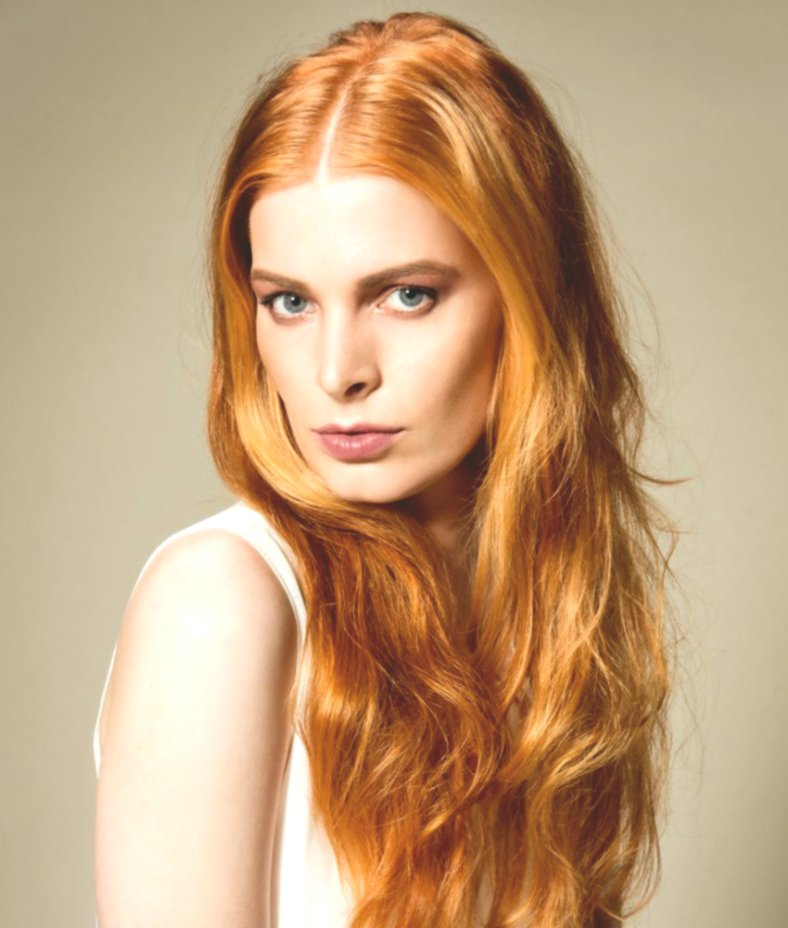 Excellent Brown Red Hair Color Model Modern Brown Red Hair Color Photography