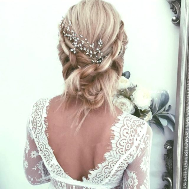 sensational cute bridesmaids pinned online modern bridal hairstyle pinned up decoration