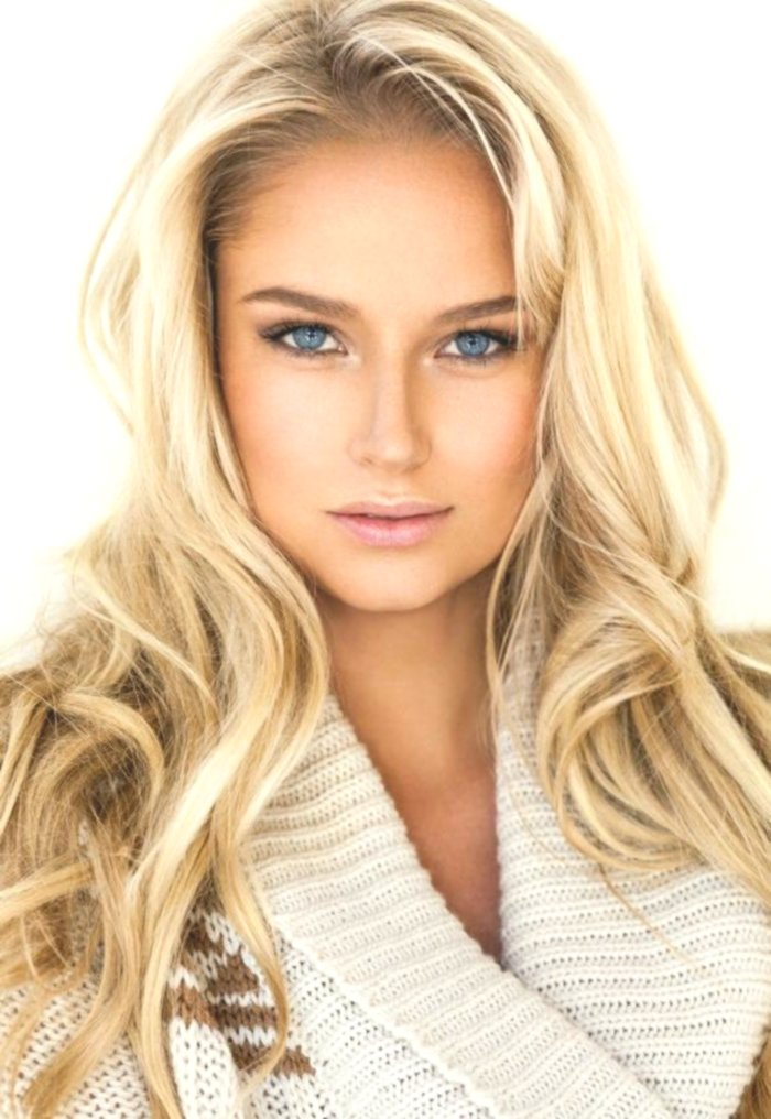fantastic natural blonde hair portrait-Awesome natural blond hair construction