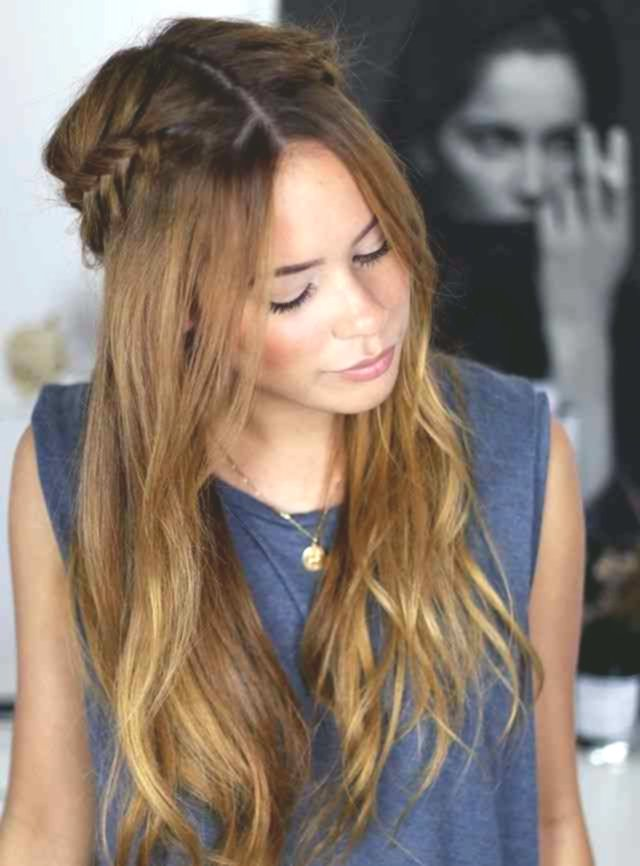 unique hairstyles half pinned collection-Beautiful Hairstyles Half Pinned wall