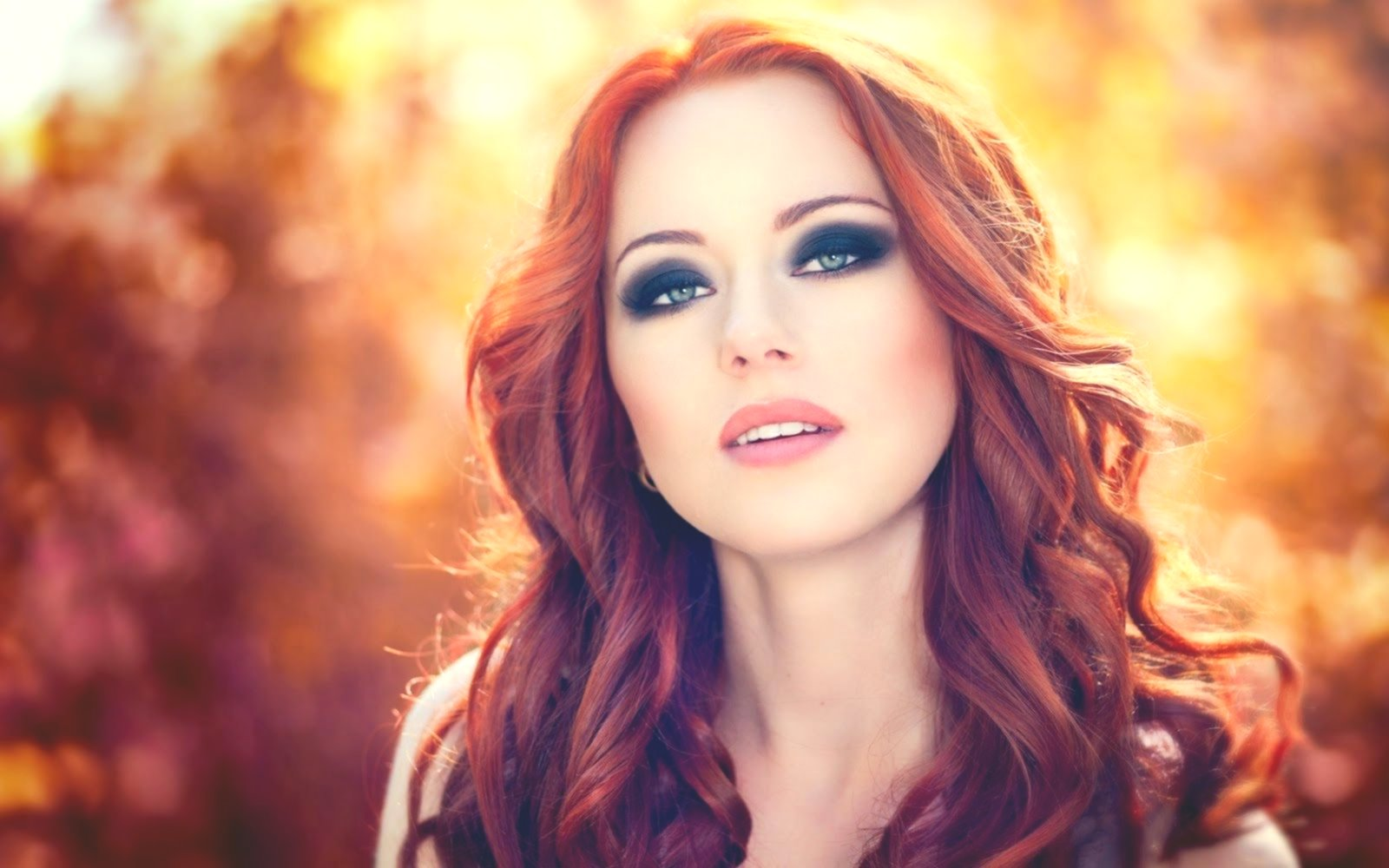 Inspirational red brown hair color model-Wonderful red-brown hair color photo