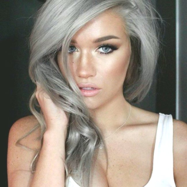 wonderfully stunning gray blonde hair architecture-Elegant Gray Blonde Hair Decoration