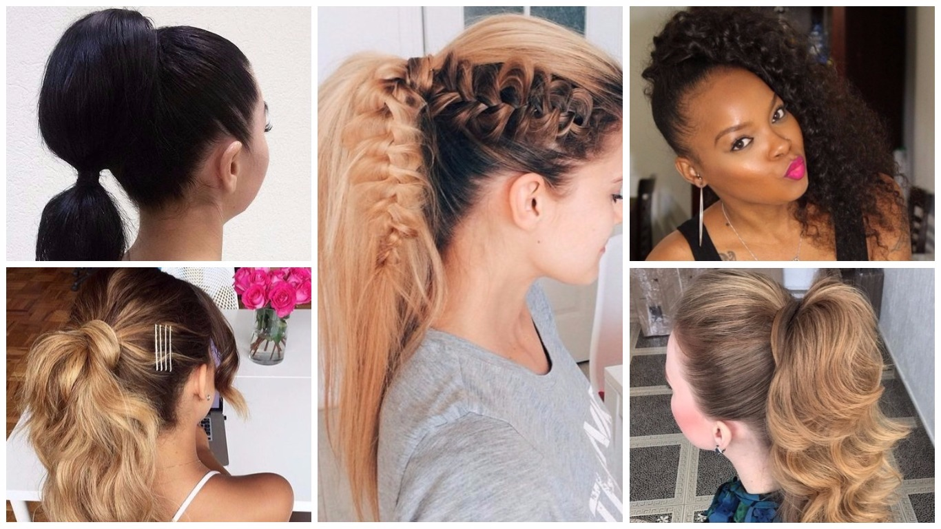 high ponytails for every woman in 2019