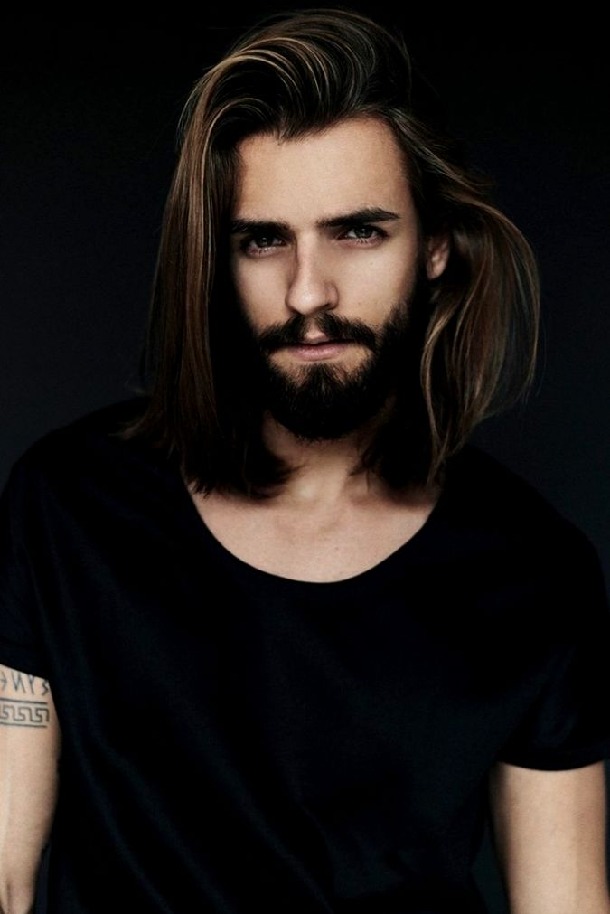 Fascinating Men's Hairstyles Medium-length Collection-Best Of Men's Hairstyles Medium-Long Wall