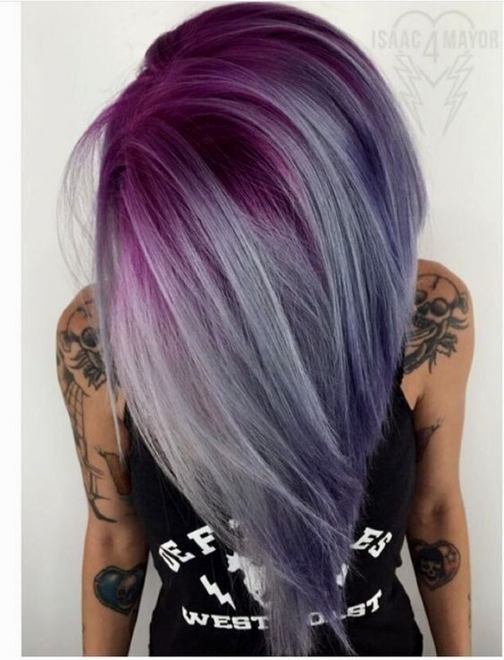 unique hair color table ideas - Lovely hair colors table picture