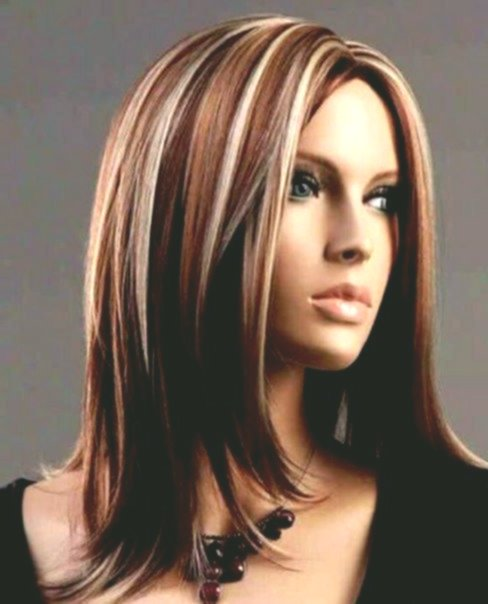 Amazing awesome straightened brown hair concept-modern highlights brown hair layout