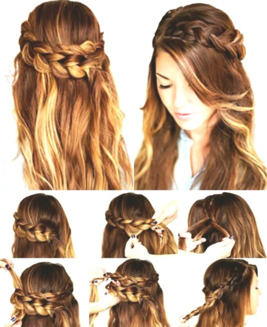 Imaginative Simple Hairstyles To Make Yourself Concept - Beautiful Simple Hairstyles To Make Themselves Concepts