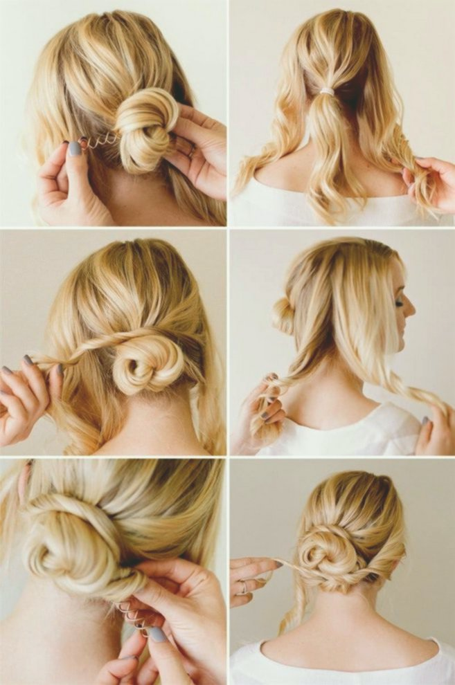 latest hairstyles for long hair instruction plan-Elegant Fast Hairstyles For Long Hair Instructions Collection