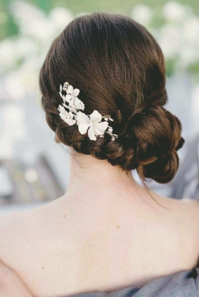 latest simple hairstyles wedding inspiration-Modern Simple hairstyles wedding decoration