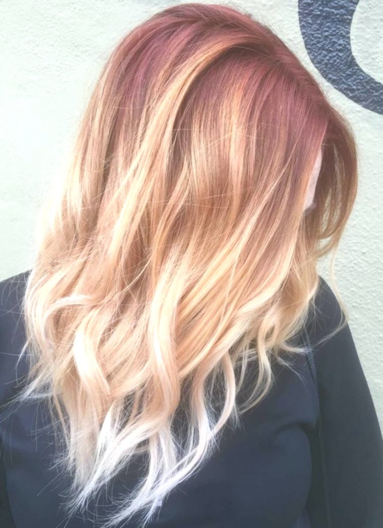 Stylish hair dyeing blond photo Image Fancy Hair Dyeing Blond Pattern