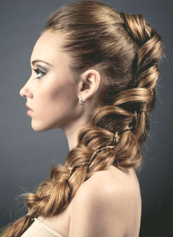 Excellent Festive Hairstyles Long Hair Concept Elegant Festive Hairstyles Long Hair Image