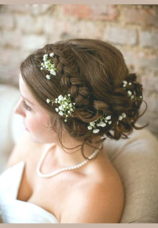 Amazing awesome open hair wedding background - Beautiful open hair wedding model