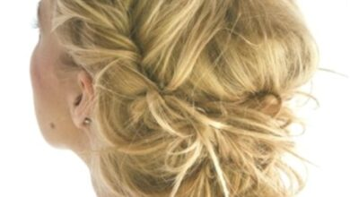 Photo of Chaotic Braid Updo for Long Hair: Prom Hairstyles