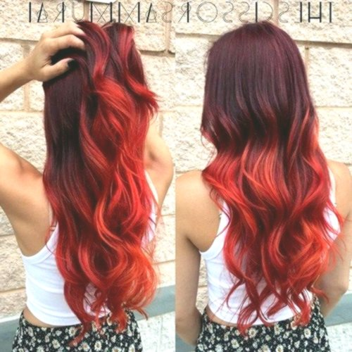 unique red hair dye décor-lovely red hair dyeing layout
