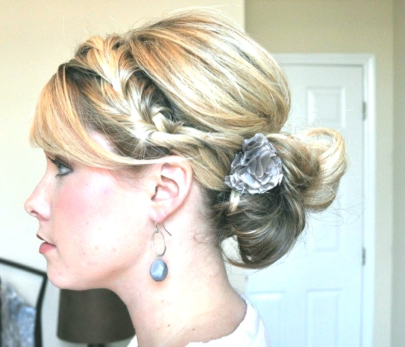 Sensational cute simple updos make yourself ideas-Stunningly simple updos by yourself decor