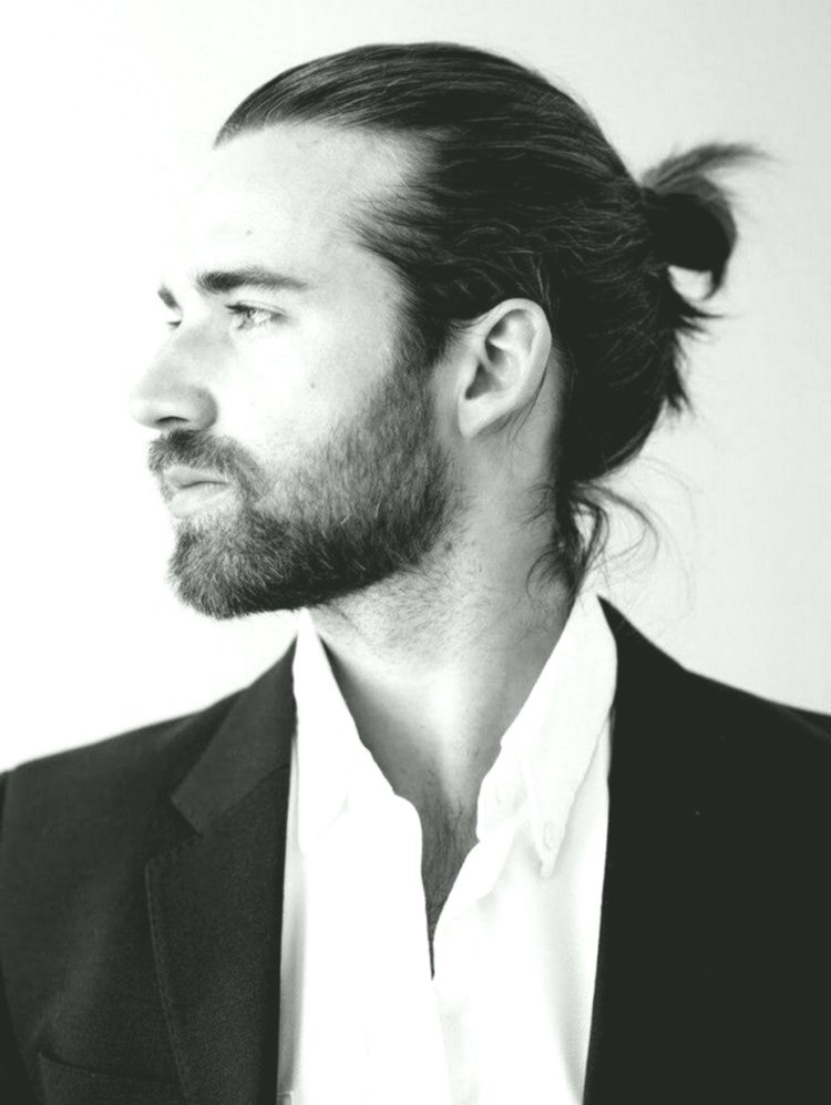 fascinating men with long hair décor-luxury men with long-haired wall