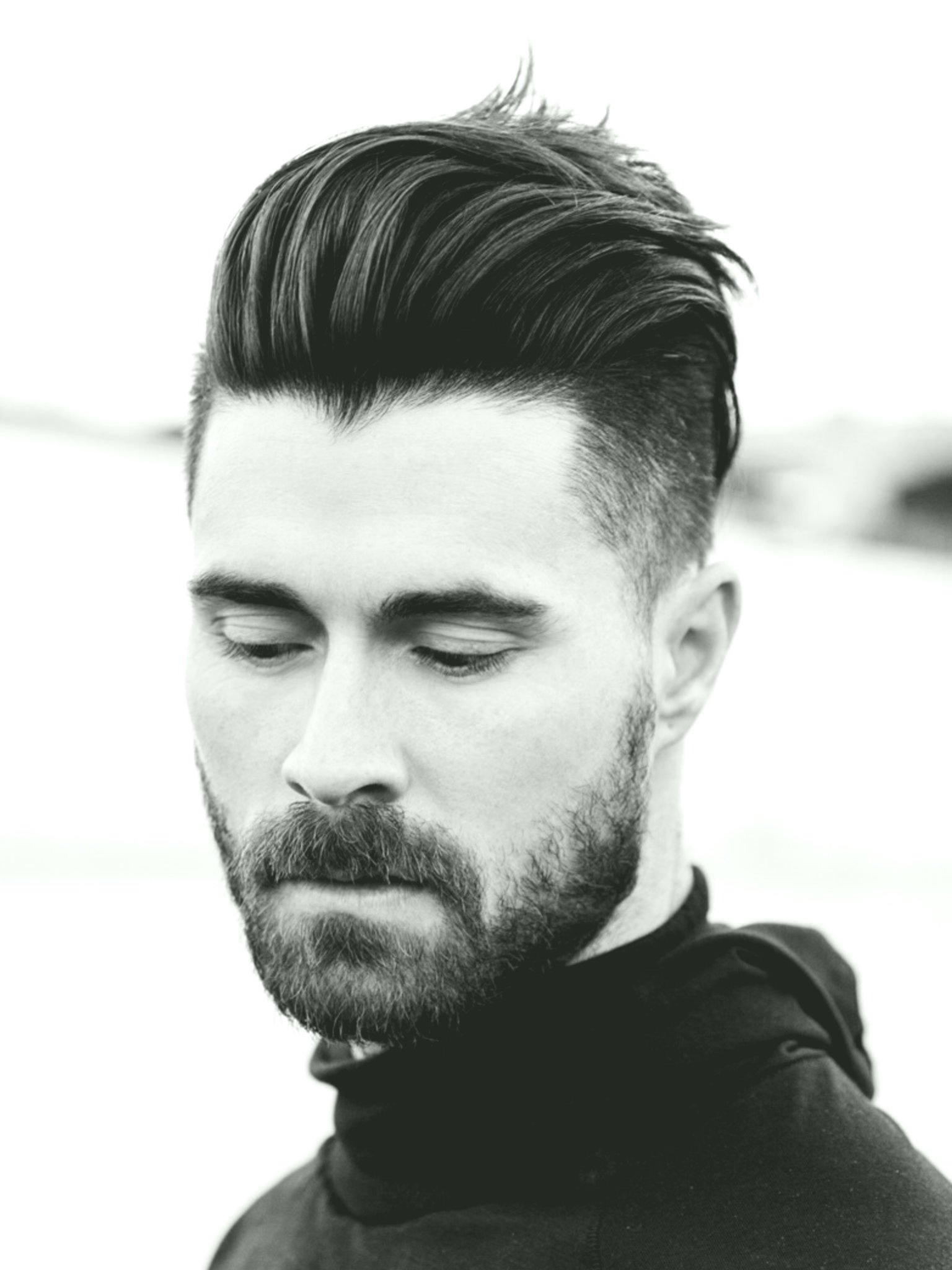 terribly cool man hairstyles long inspiration-Excellent man hairstyles Lang portrait