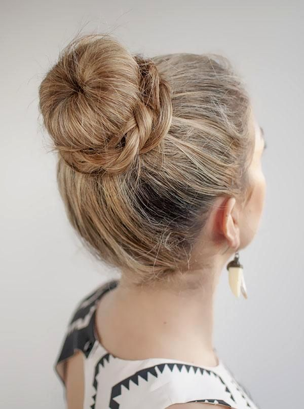 stylish braided hairstyles with bun collection-Cool braided hairstyles With Dutt architecture