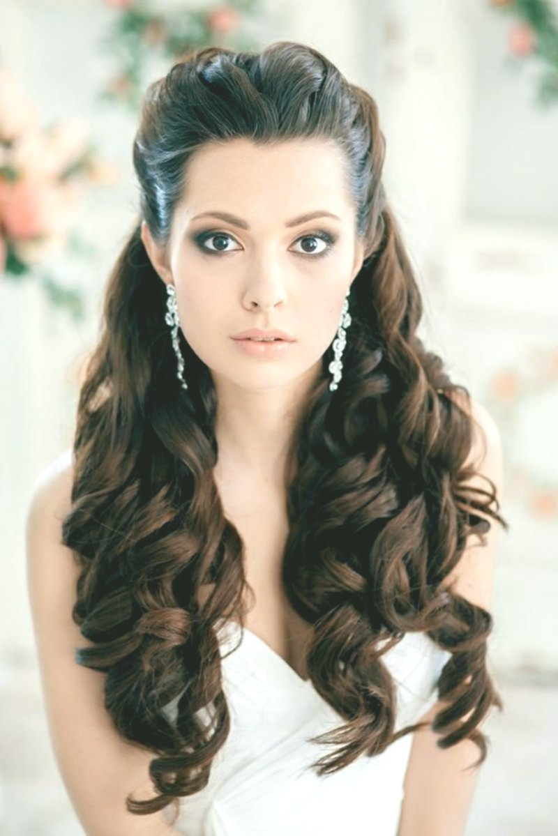 lovely hairstyle half-candid photo-modern hairstyle half-open reviews