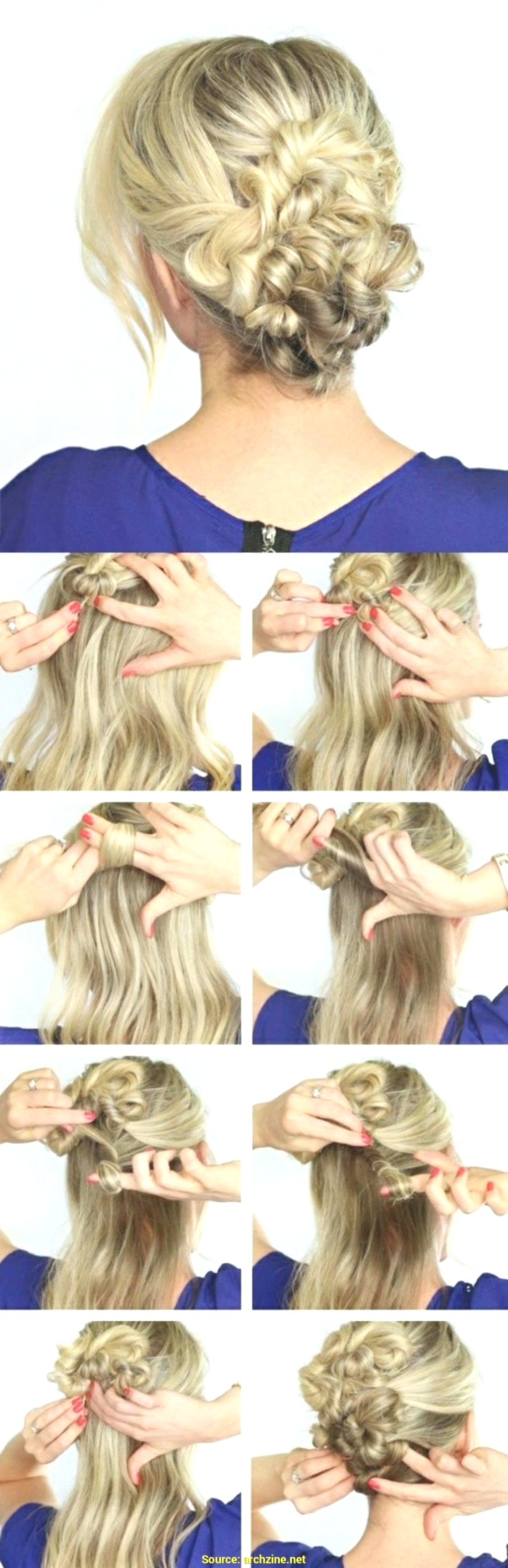 new hair self braiding photo-Modern hair self braiding models