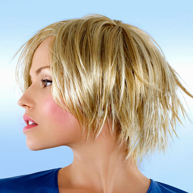 latest short hairstyles fringy concept-charming short hairstyles fringed models