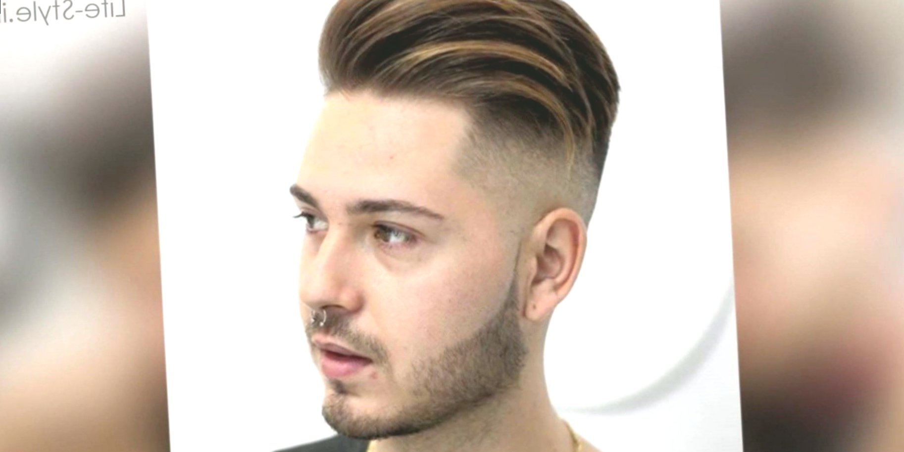 Latest Men's Haircut 2018 Portrait-Awesome Men's Haircut 2018 Collection