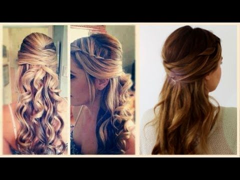 lovely updos with curls model-modern updos with curly hair portrait