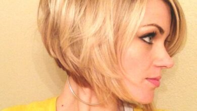 Photo of 10 Chic Reverse Bob Hairstyles: Simple Short Haircuts