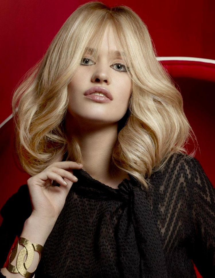 lovely hairstyles blonde half length ideas-top hairstyles blond half-length ideas