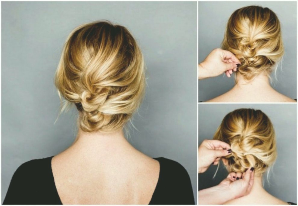latest updos medium length hair easy picture cute updos mid-length hair Easy Build