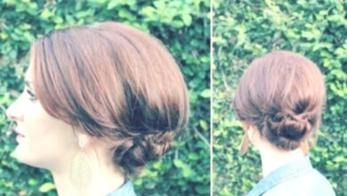 Photo of Simple Chignon Updo Tutorial: Everyday Hairstyles for Women