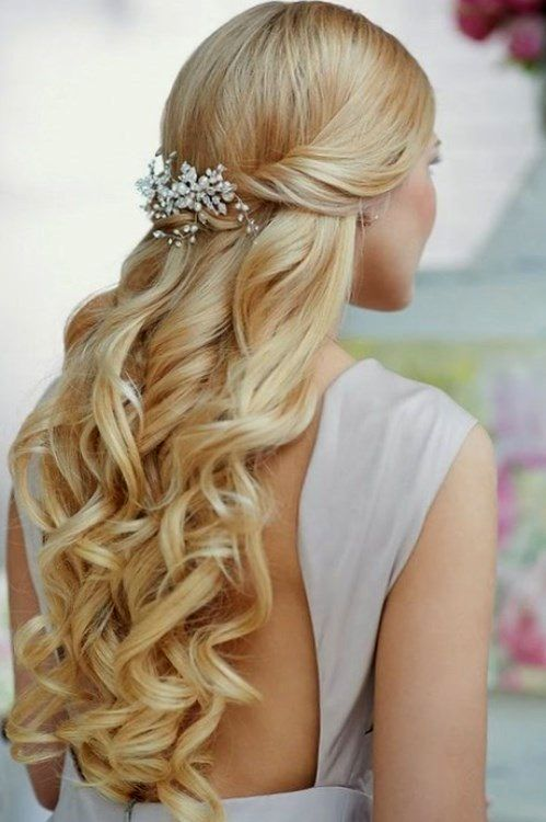 Excellent long hair curls decoration-Fancy long hair curls pattern