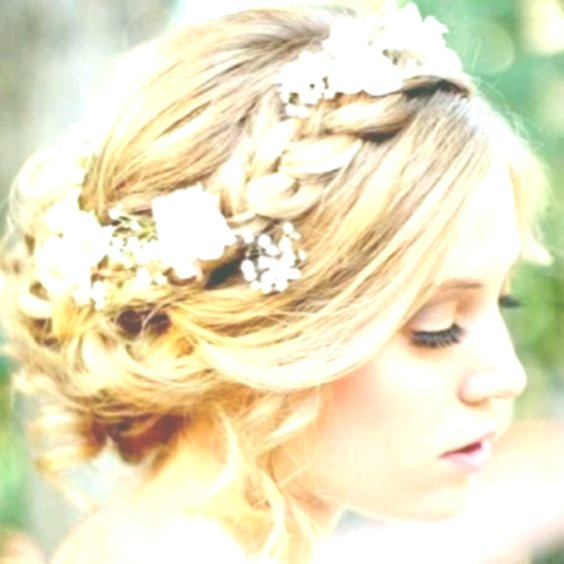 fantastic bridal hairstyle with flowers inspiration-Amazing Bridal Hairstyle With Flowers Gallery