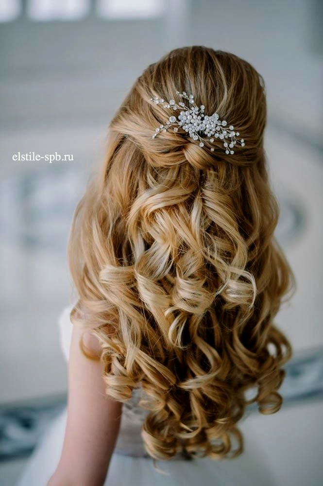 terribly cool wedding hairstyles semi-open inspiration-Modern wedding hairstyles Semi-open layout