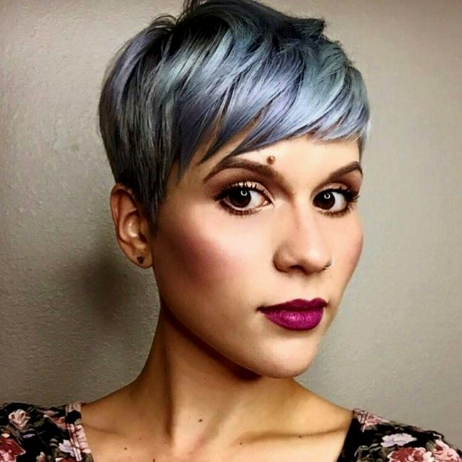 amazing awesome very short hair women collection-Beautiful Very Short Hair Women Wall