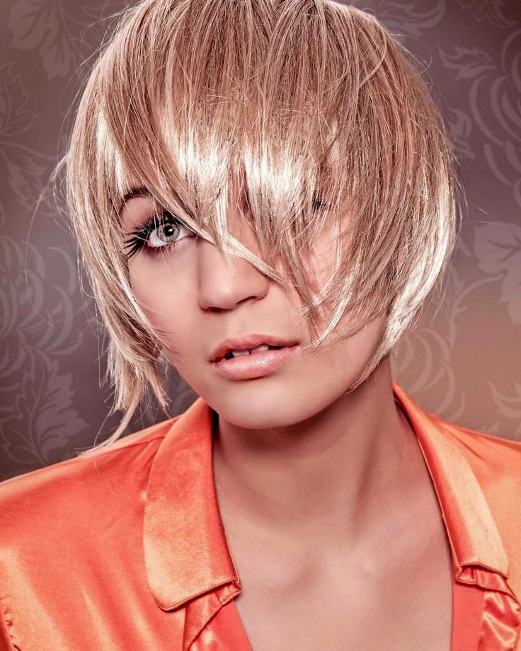 incredibly short-haired fringy concept-charming short hairstyles fringed models