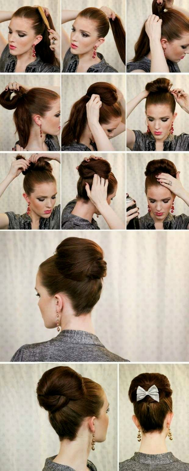 elegant updos easy and fast model-finest updos Simple And Quick Gallery