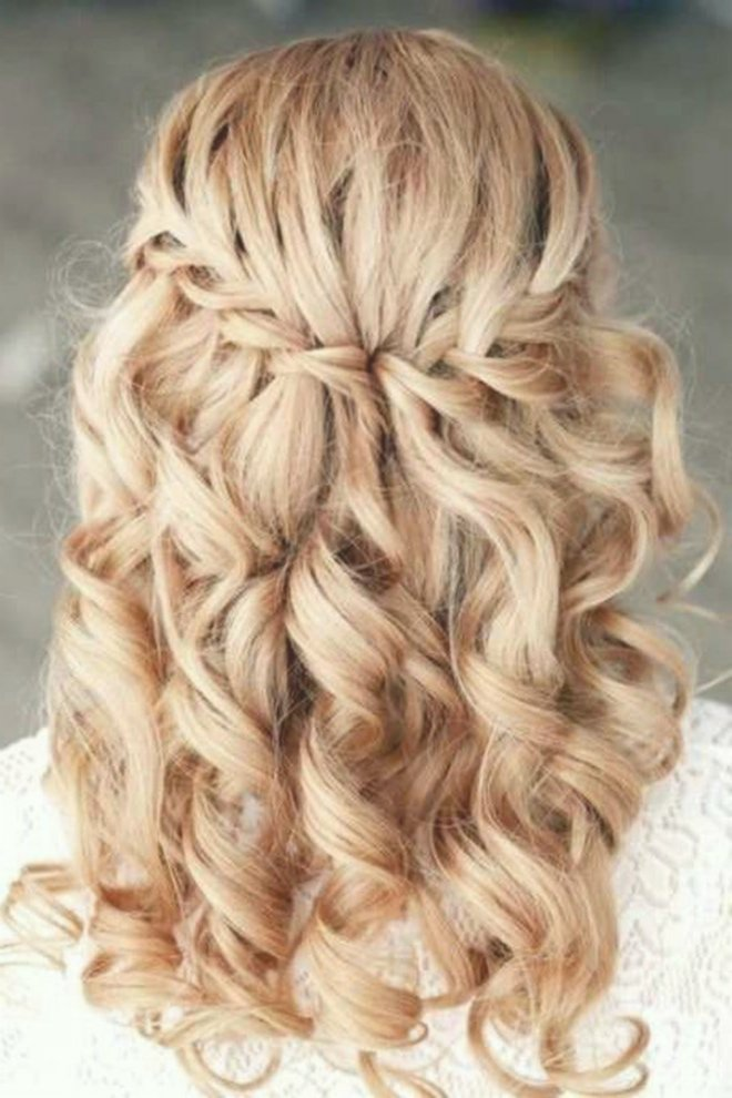 beautiful bridal hairstyles open medium length ideas-Awesome Bridal Hairstyles Open Mid-Length Gallery