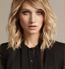 Photo of Top hairstyles Blond Mittellang Image