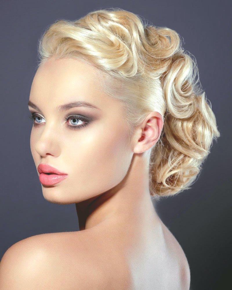 Best Wedding Hairstyles Lure Model Charming Wedding Hairstyles Curl Collection