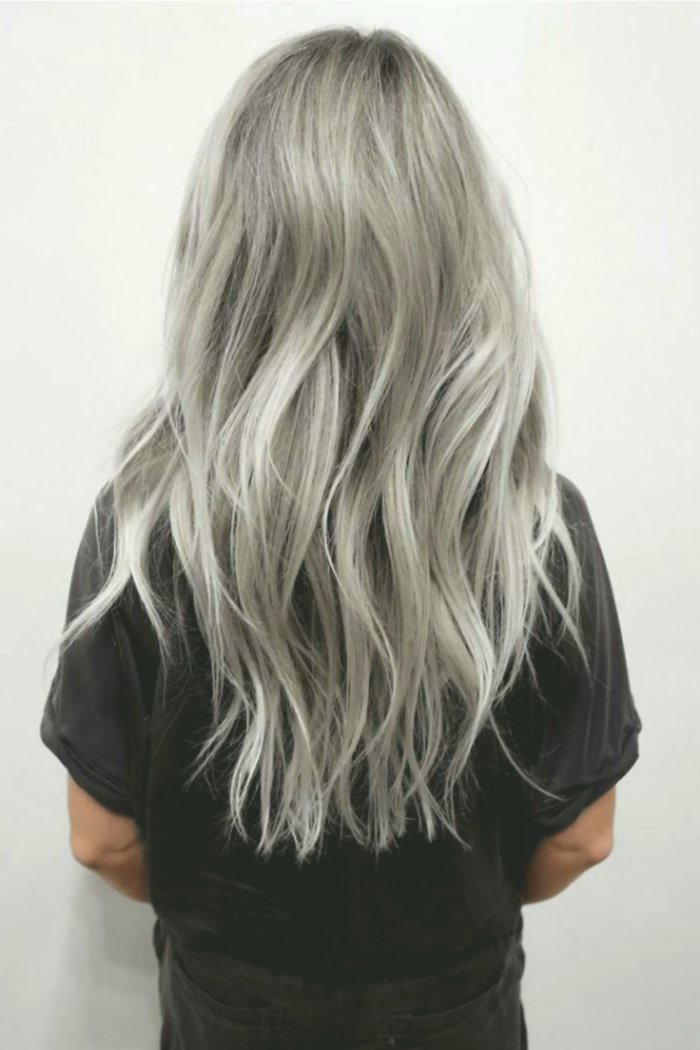 elegant hair color silverblue inspiration-new hair color silverblond photo